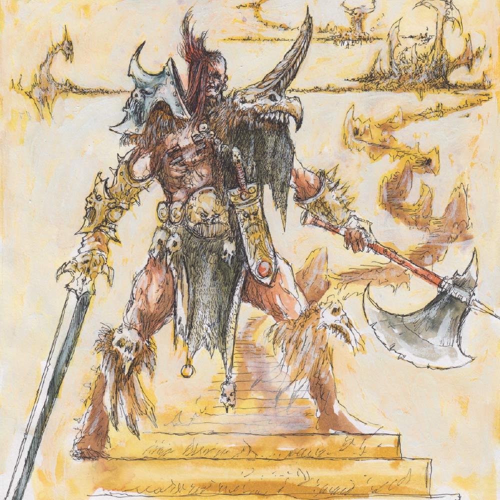Warhammer Quest Age of Sigmar Silver Tower Aelf Mistweaver Saih High Elf Wizard