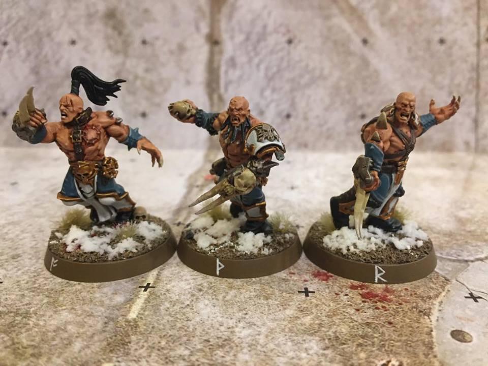 Blood Bowl Team Conversions Showcase - Norse - Warhammer