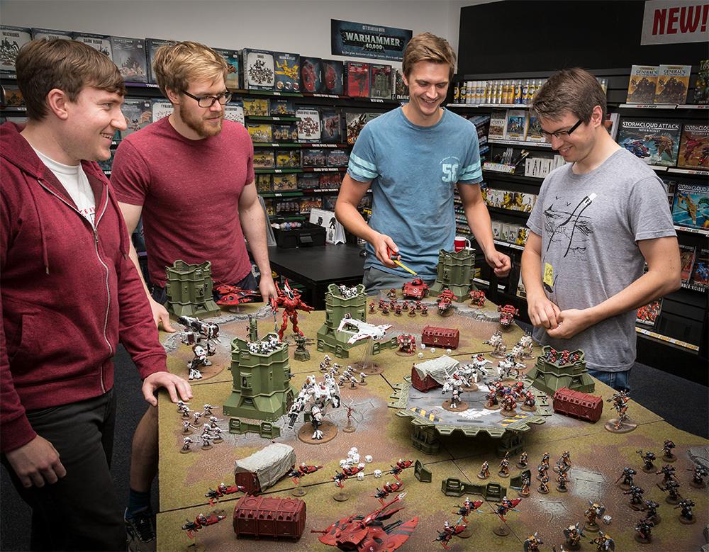 New Warhammer 40,000: Three Ways to Play - Warhammer Community