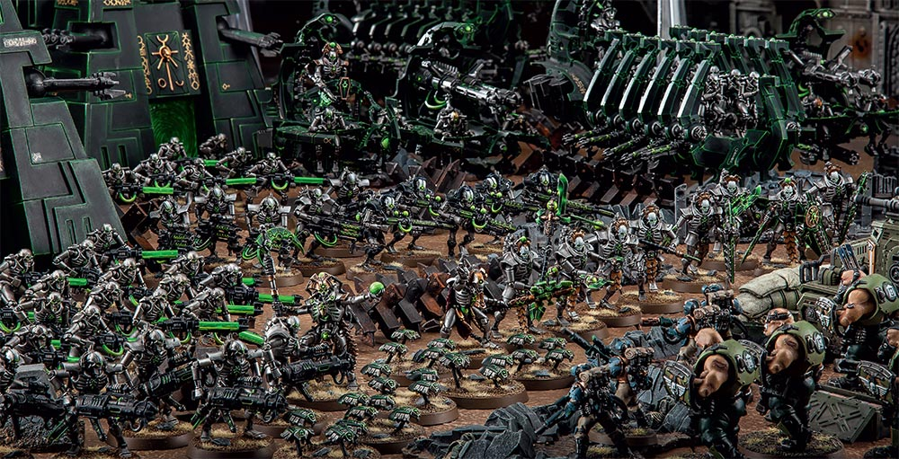 Warhammer 40,000 Faction Focus: Necrons - Warhammer Community