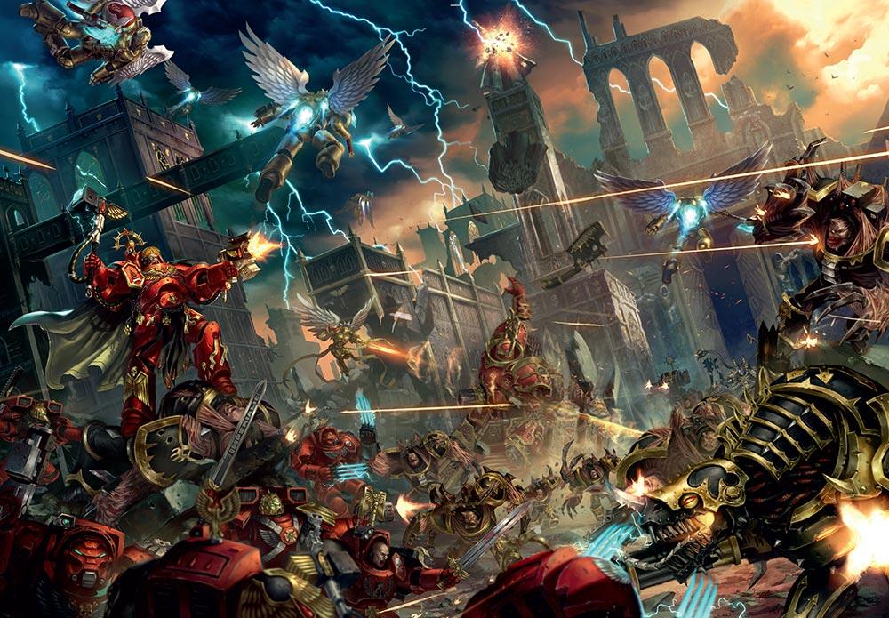 New Warhammer 40,000: Cities of Death - Warhammer Community