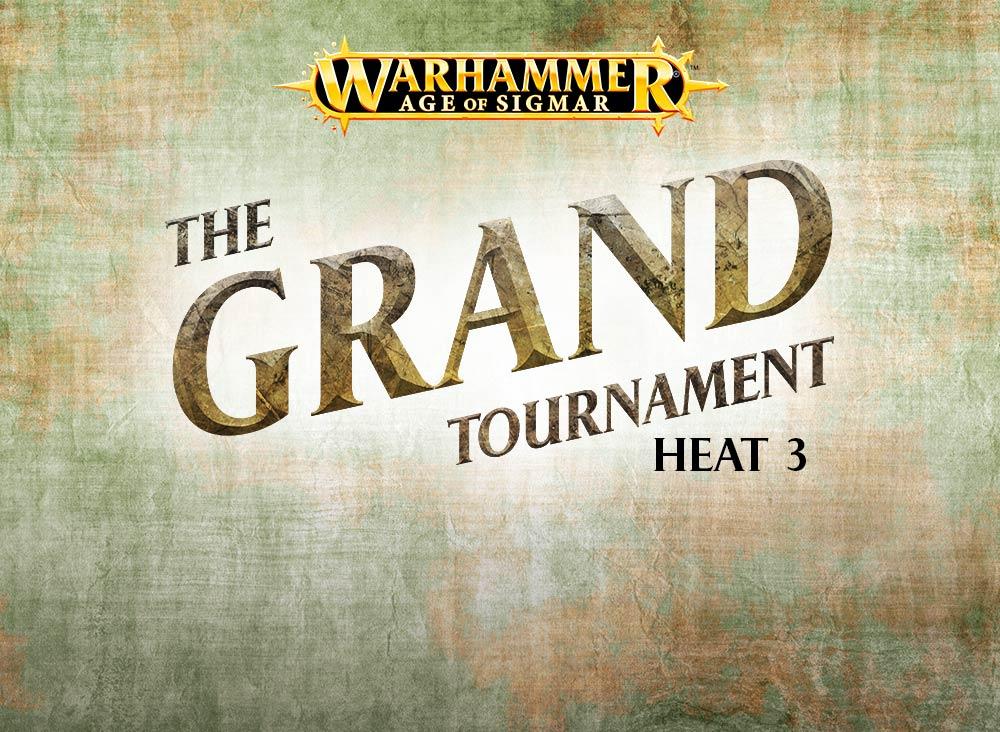 Warhammer Live Returns: The Grand Tournament – Heat 3