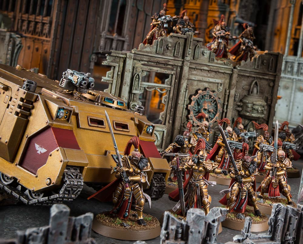 Adding Sisters of Silence to your army - Warhammer Community