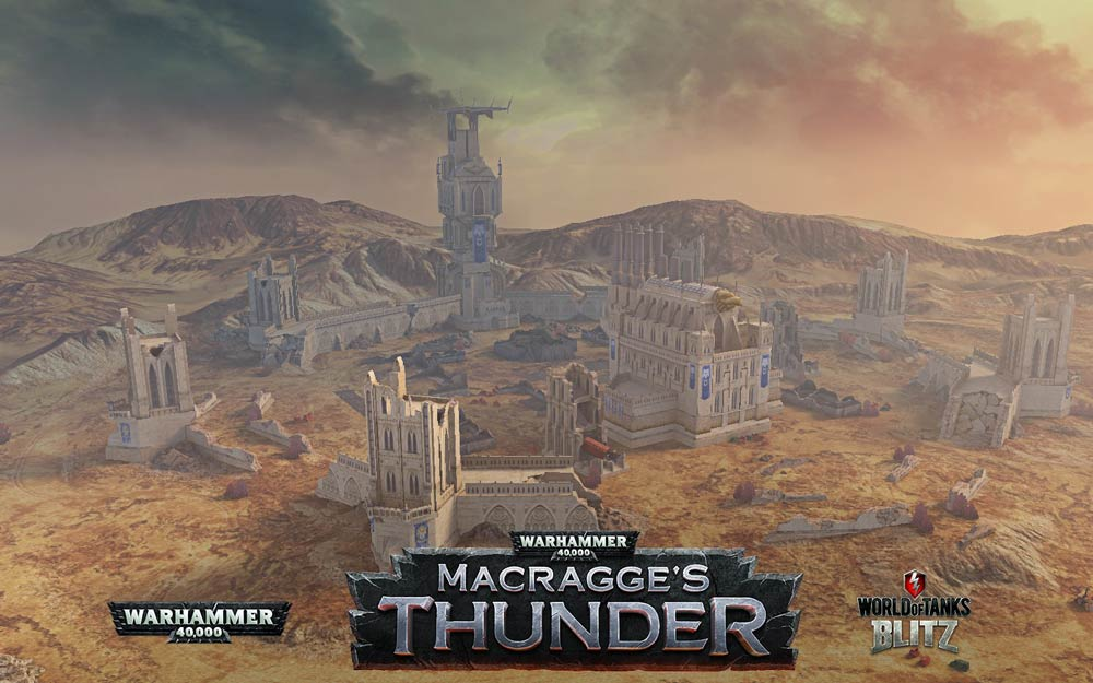 Warhammer 40,000 in World of Tanks Blitz - Warhammer Community