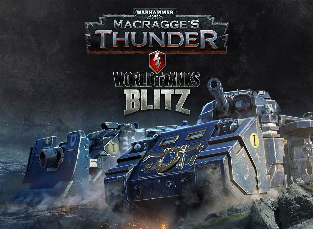 Unleash the fury of the Space Marines in World of Tanks: Blitz