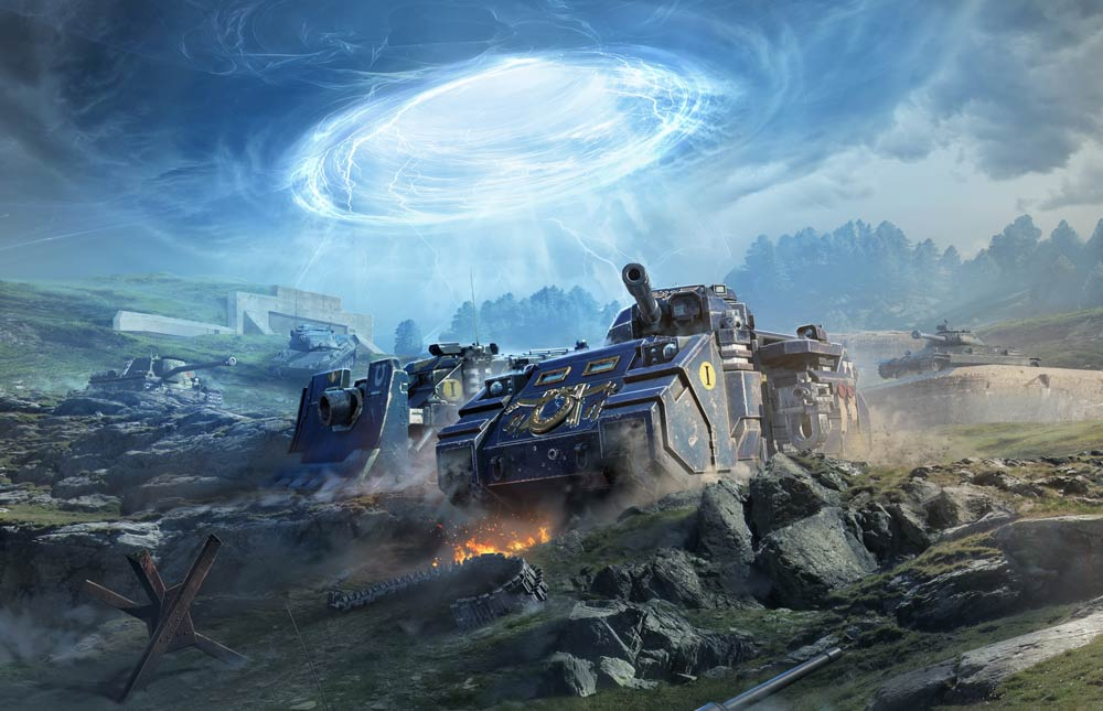Unleash the fury of the Space Marines in World of Tanks