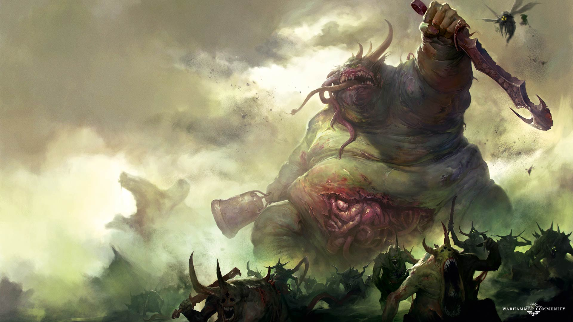 The Second Day of Nurgle: Great Unclean One - Warhammer Community