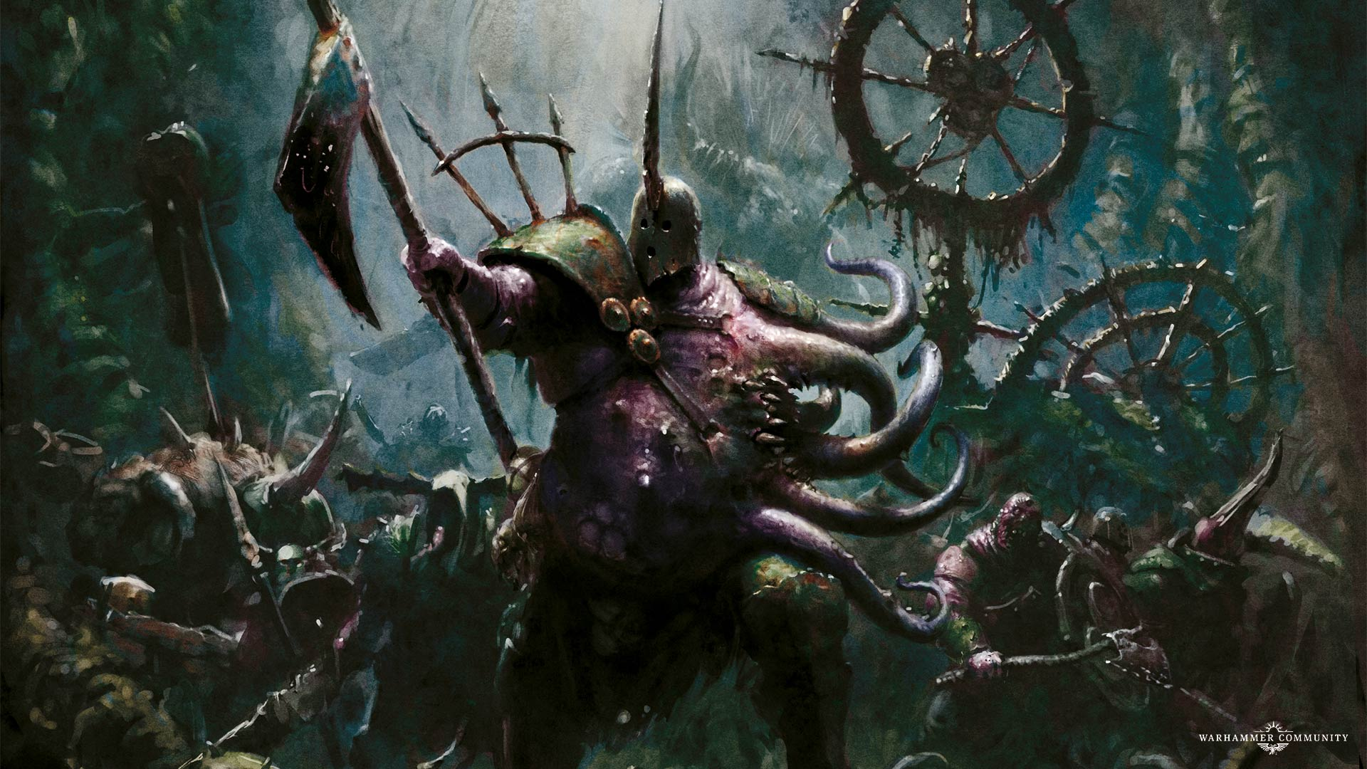 The Fourth Day Of Nurgle The Lord Of Blights Warhammer Community
