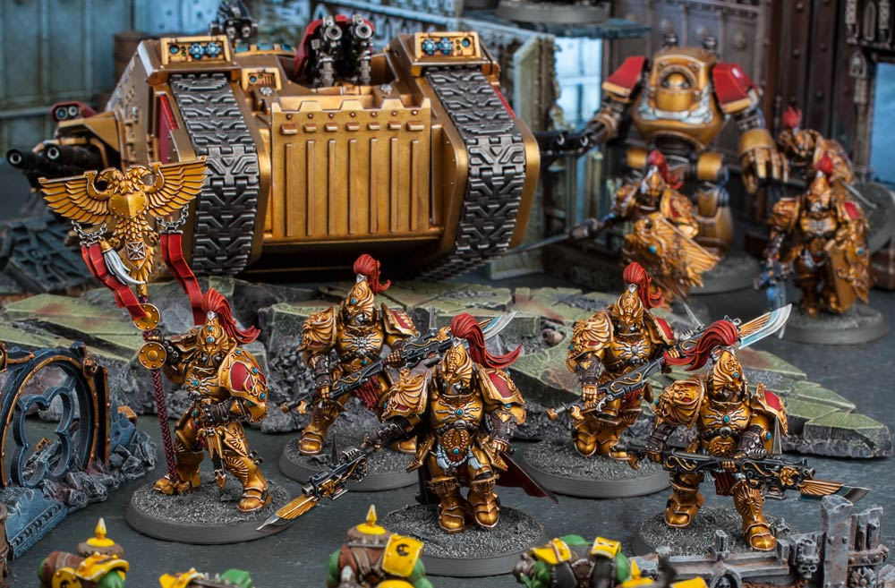 Adeptus Custodes: Forge World Beta Rules and Codex FAQ - Warhammer