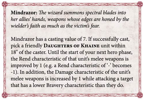 Daughters of Khaine Preview: Part 5 - Magic and Prayers