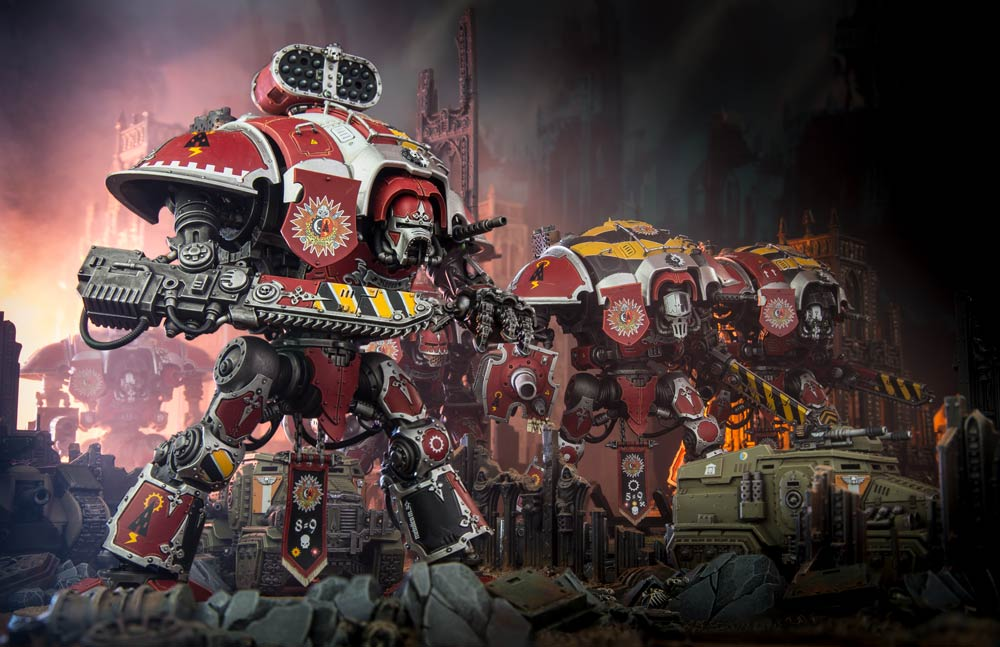Imperial Knights: Building Your Champion - Warhammer Community