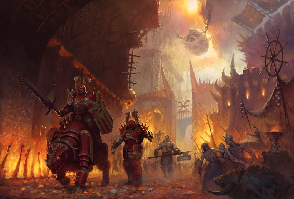 Warhammer Age of Sigmar Khorne Bloodbound Bllodreavers 83-29