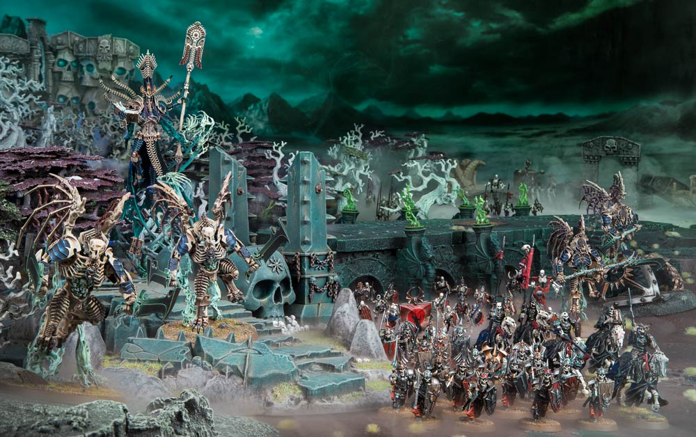 Fantasy Art Fighting Undead Army