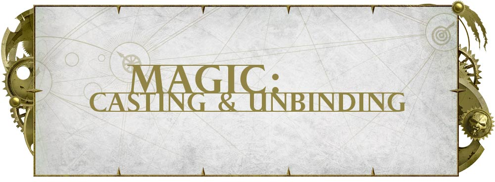 Rules Preview: Magic: Casting and Unbinding - Warhammer