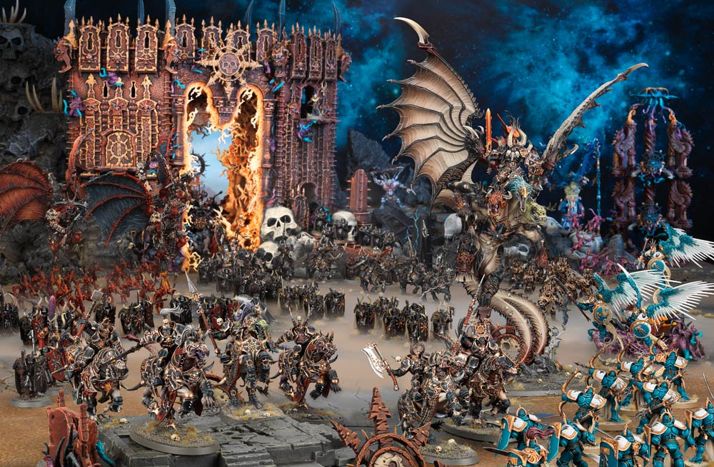 Faction Focus: Everchosen and Slaves to Darkness - Warhammer