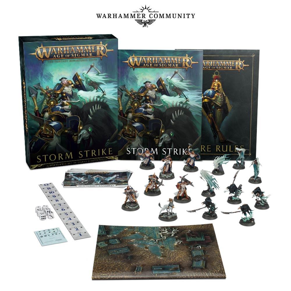W:AOS Soul Wars Stormcast Eternals Warscrolls Soul Wars Cards