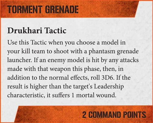Kill Team Focus: Drukhari - Warhammer Community