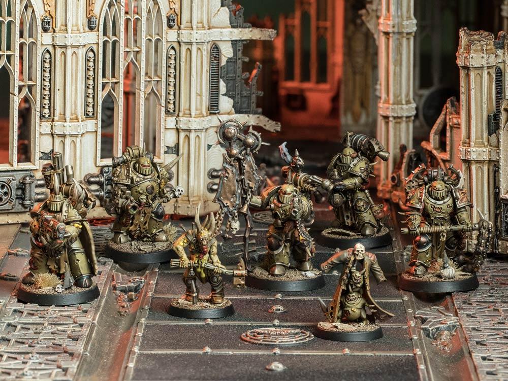 My Kill Team: Frank Haas' Death Guard - Warhammer Community