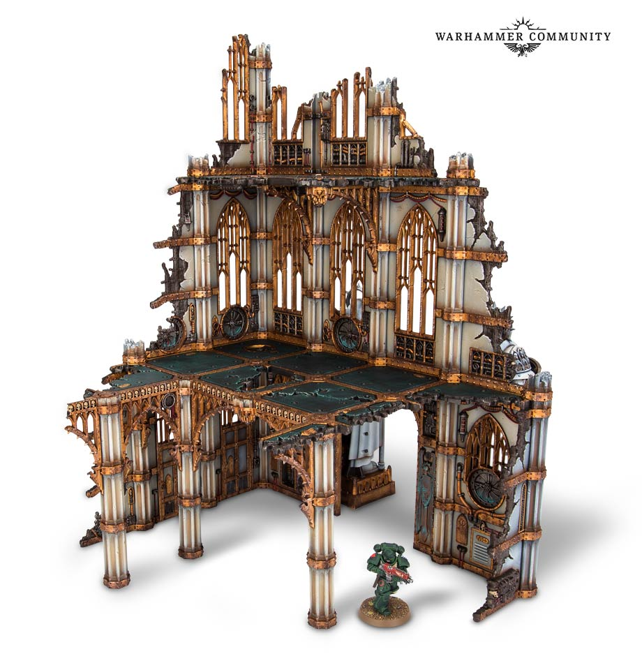 Designing the New Sector Imperialis Terrain - Warhammer