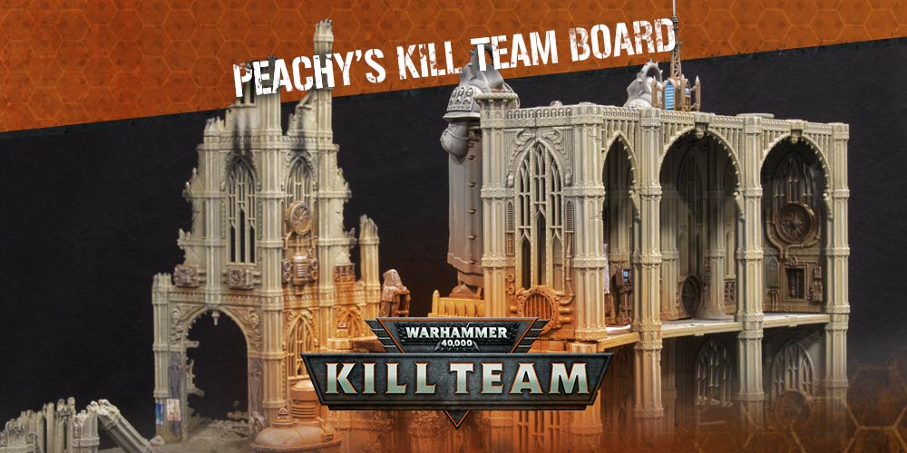 Building a Kill Team Board with Chris Peach - Warhammer Community