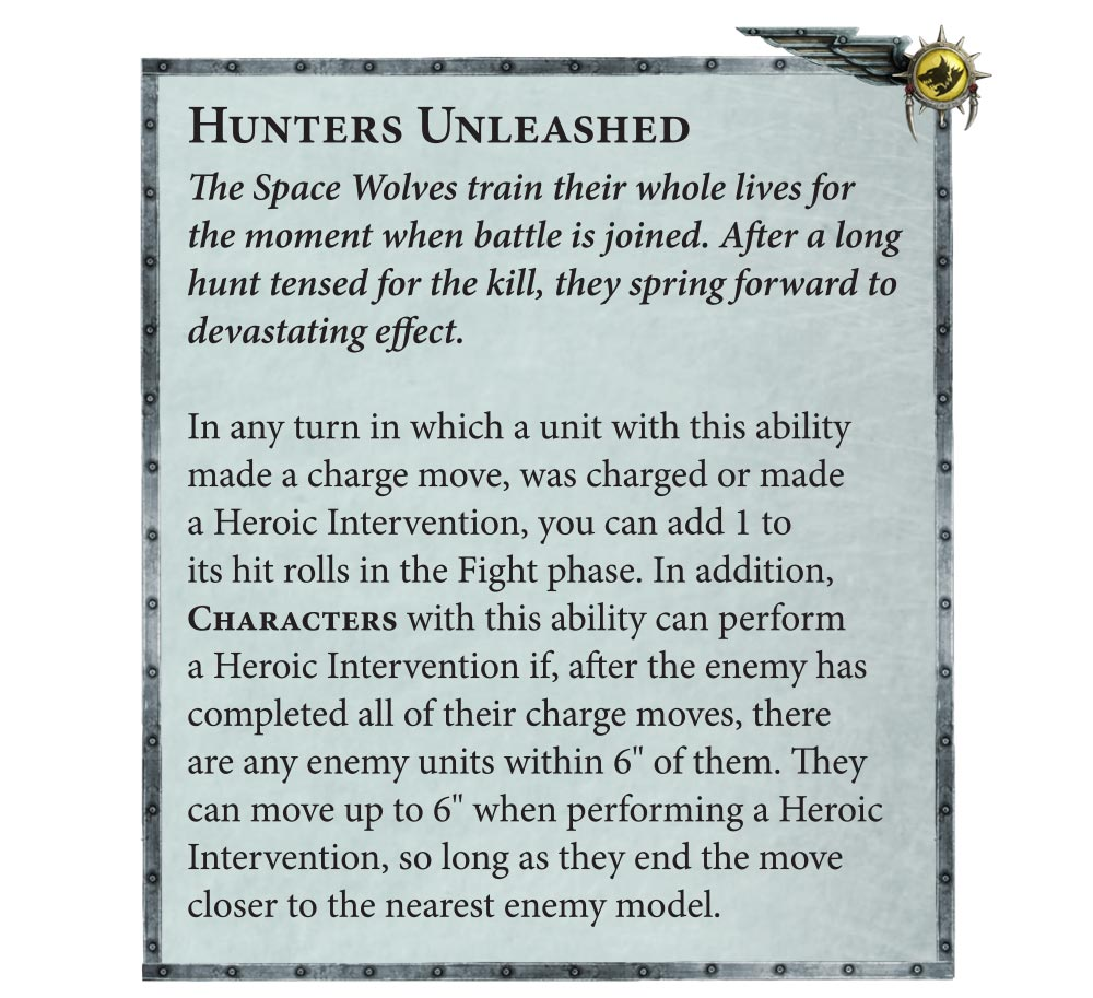 Codex: Space Wolves Preview – Hunters Unleashed and Datasheets