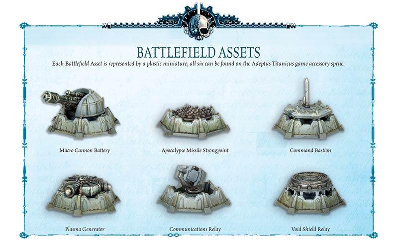 Adeptus Titanicus Part 8: Stratagems and Battlefield Assets