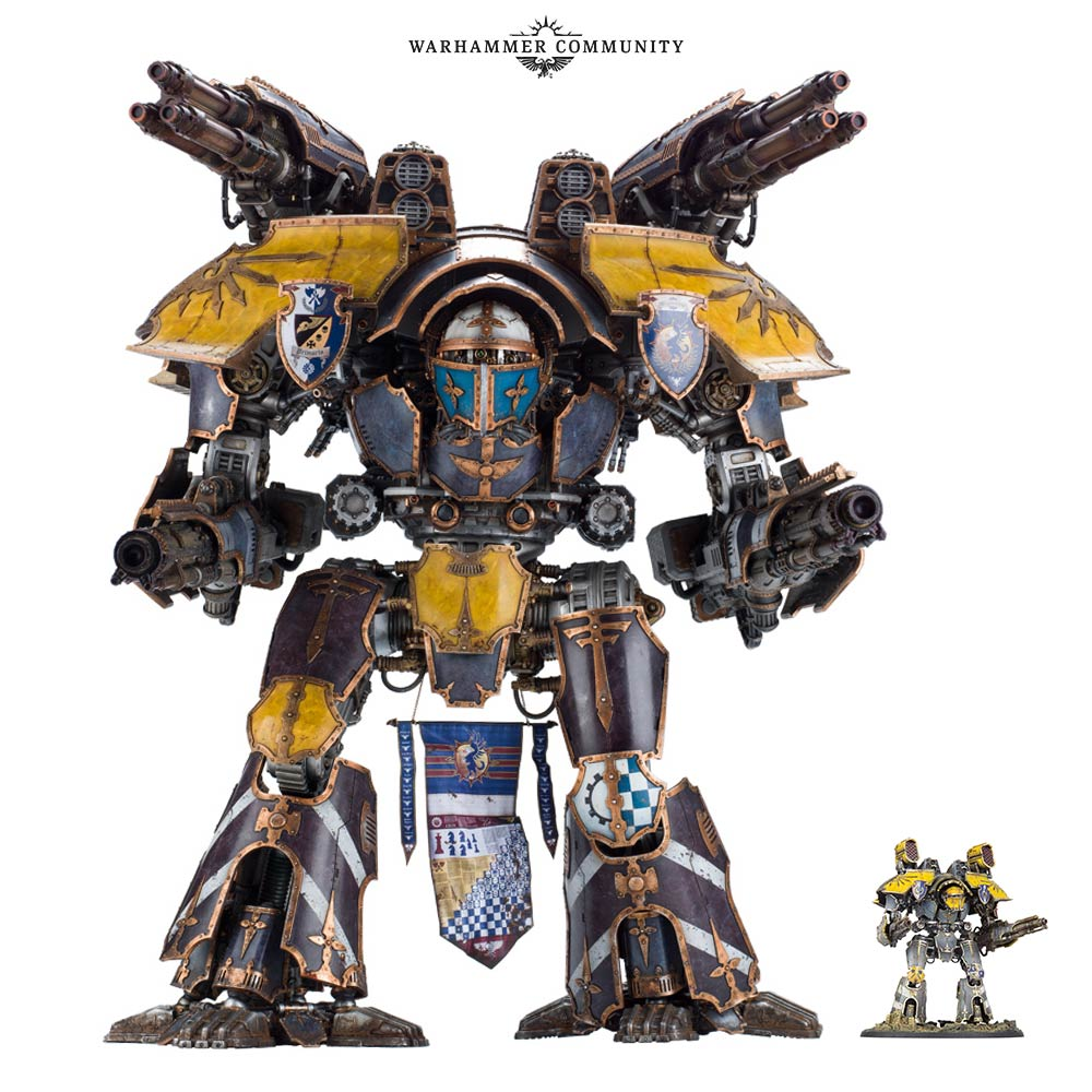 Adeptus Titanicus Part 3: War on a New Scale - Warhammer