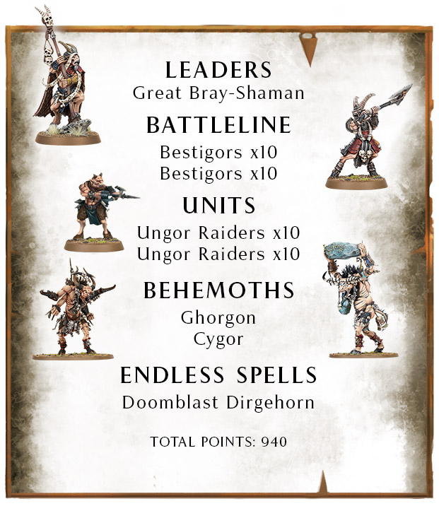 START COLLECTING BEASTS OF CHAOS
