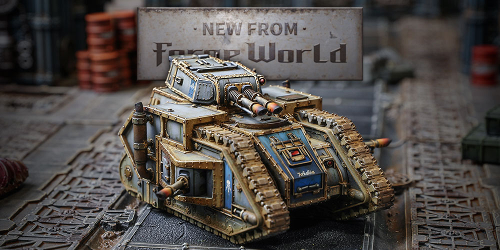 Battle Tanks from the Age of Darkness - Warhammer Community