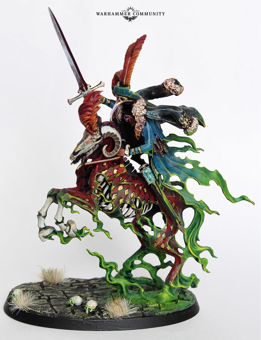 Age of Sigmar Nighthaunt Knight of Shrouds Guardian of Souls and Spirit Torment