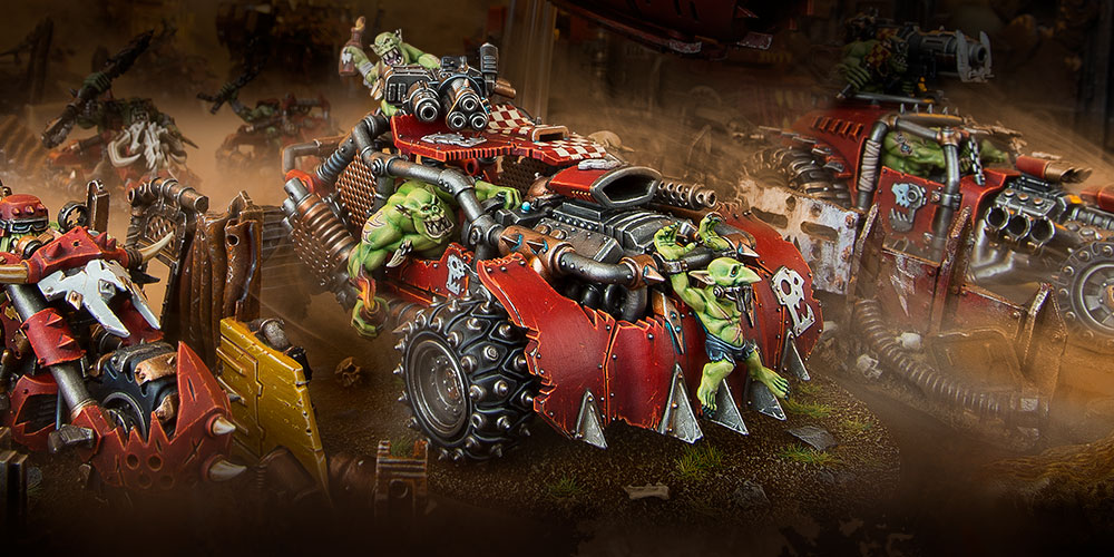 Building A Speed Freeks Army - Warhammer Community