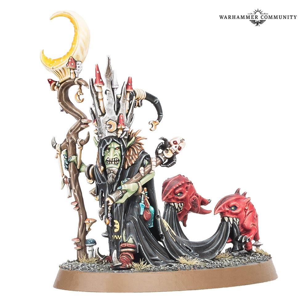 Goblins Gloomspite Gitz Schild Shield AoS Warhammer Fantasy Bitz 27518
