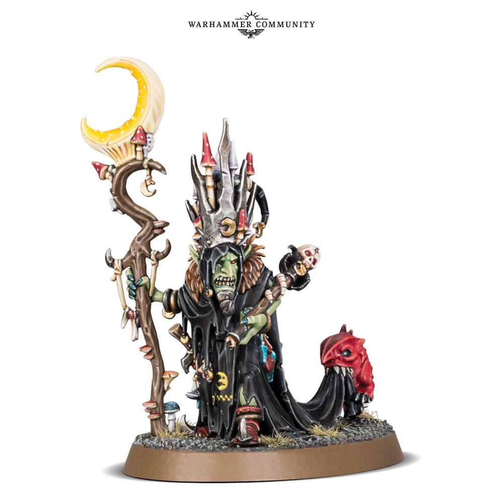 Mangler Squig Loonboss Gloomspite Gitz Warhammer Sigmar Age of Destruction