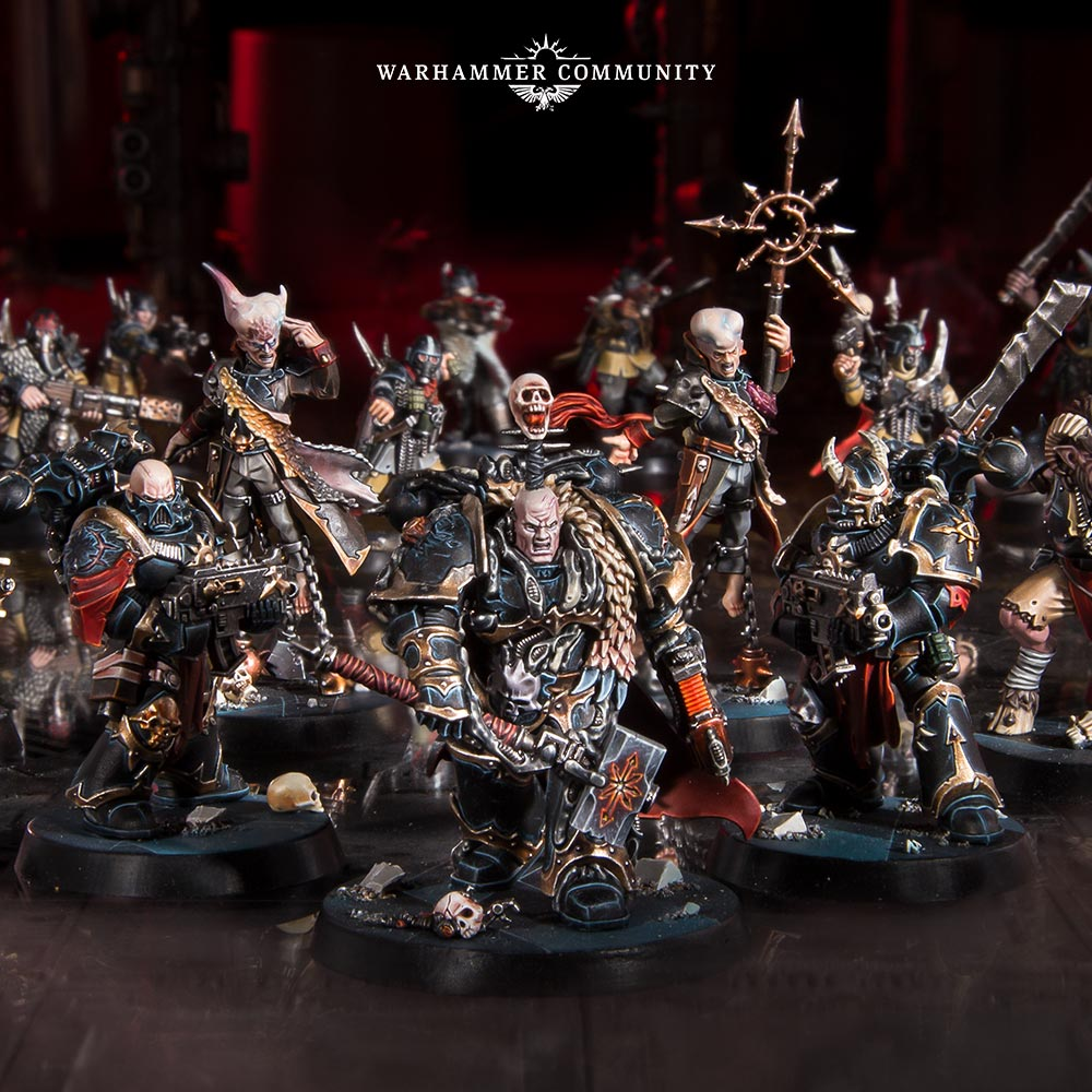 Games Workshop Warhammer Quest BLACKSTONE FORTRESS Servants of The Abyss