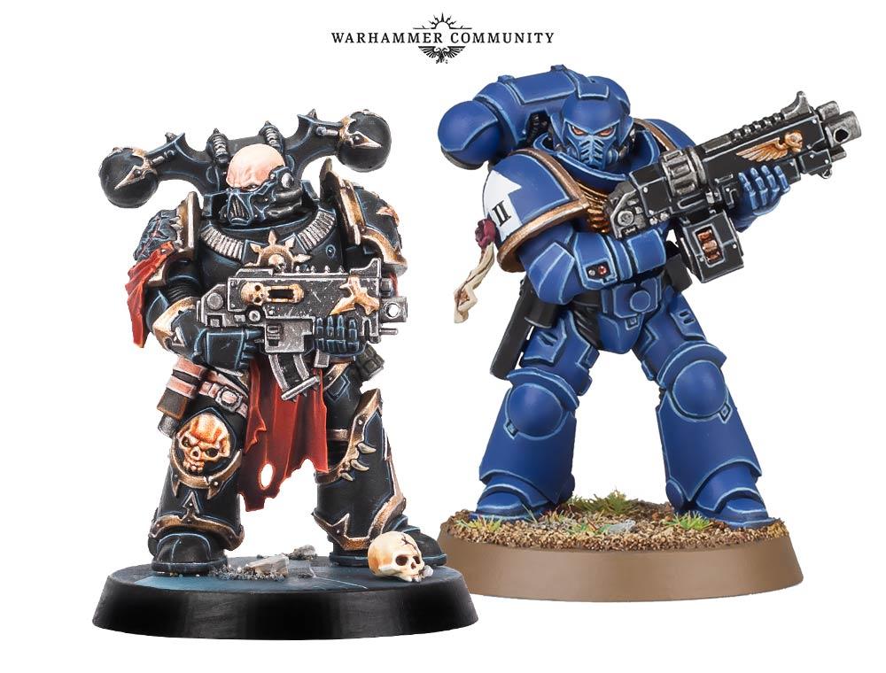 GW Warhammer 40K Bits & Einzelteile *BITS* Sammeln & Seltenes Chaos Space Marines Beine A