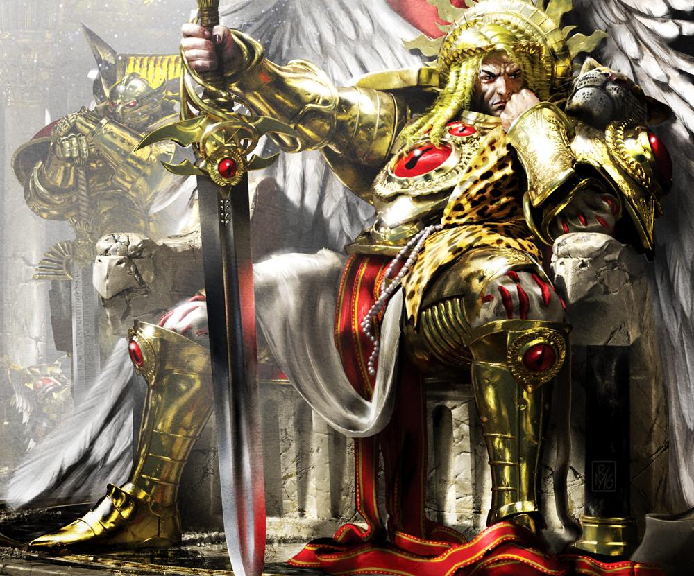Sanguinius: The Model Revealed - Warhammer Community