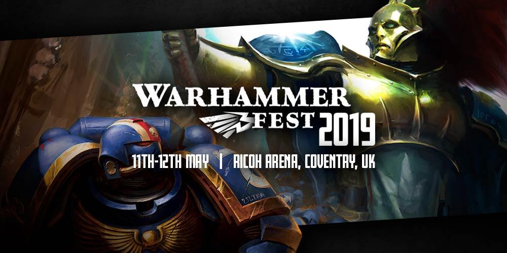 Coming Soon: Warhammer Fest - Warhammer Community