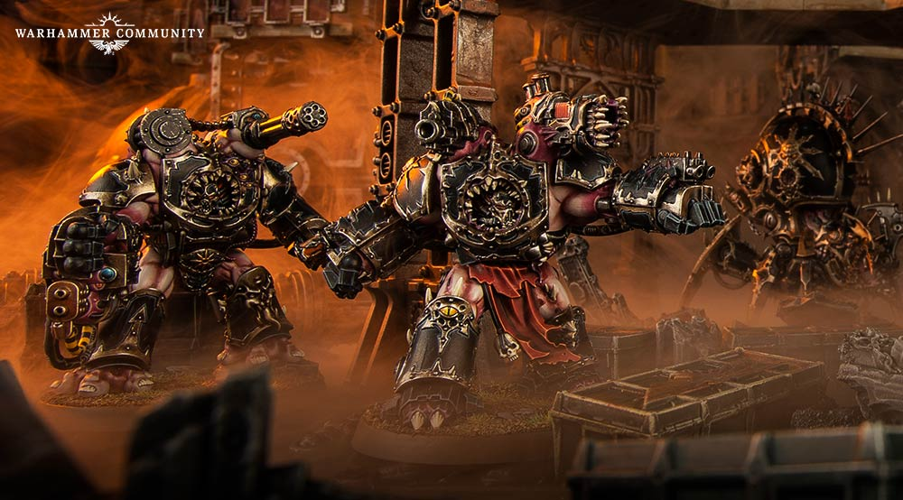 Chaos Space Marines: Top 5 Tactics for Matched Play