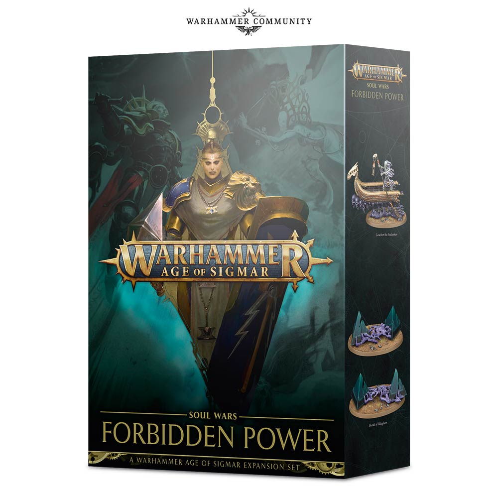 13f44b94 There is great and ancient power hidden in the Realms – power never meant  for mortals. Long ago, in the Age of Myth, Sigmar sought to hide these  forces in ...