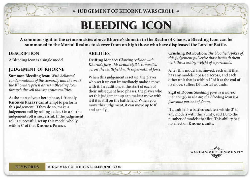 Blades of Khorne Preview: Judgements of Khorne and the Skull