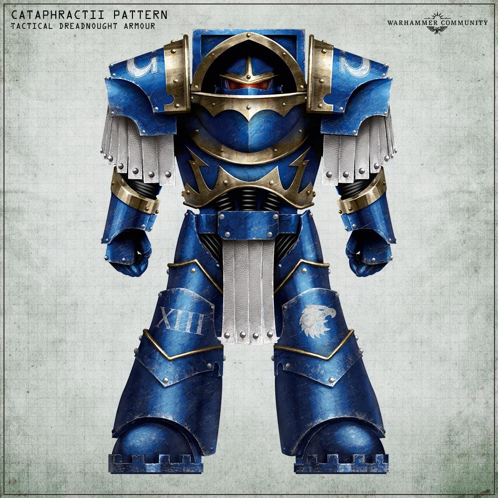 Grim Dark Corners: Tactical Dreadnought Armour - Warhammer Community