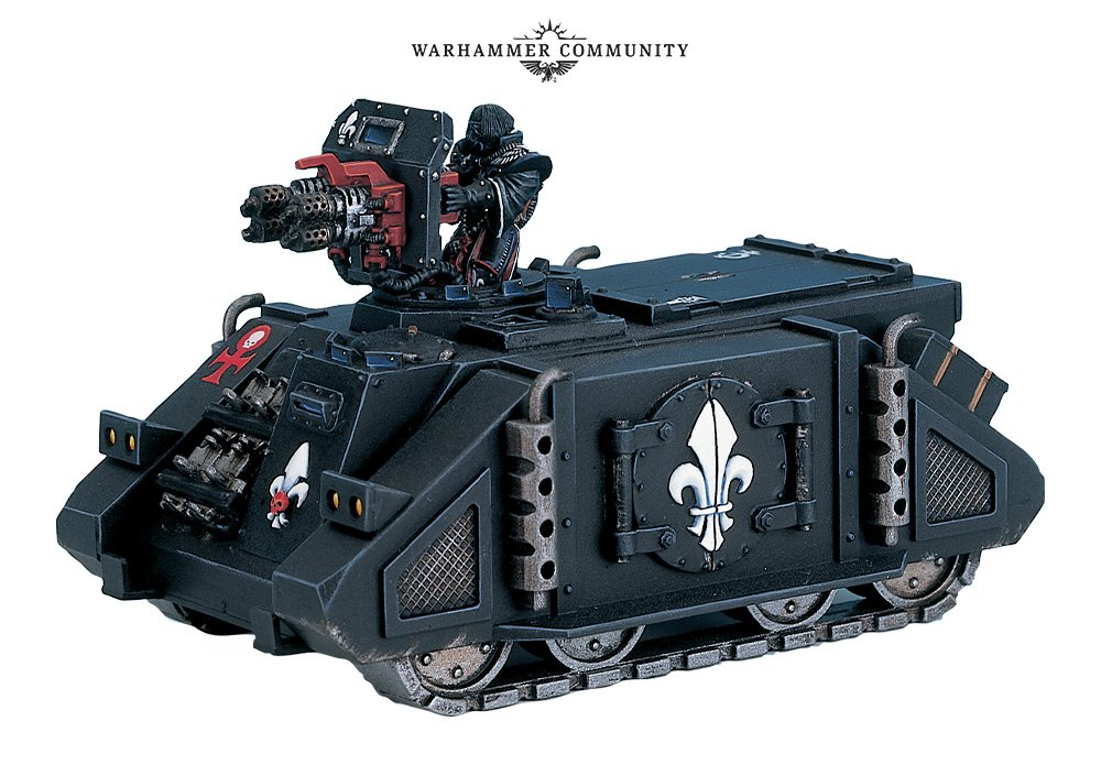 Battle Sister Bulletin - Part 5: Vehicle Details - Warhammer