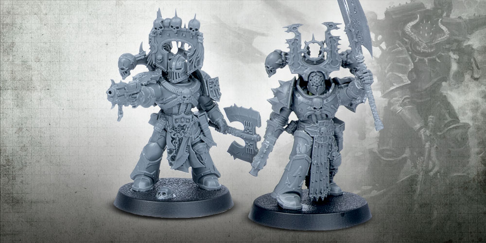 Chaos Space Marine Special Weapons bits auction