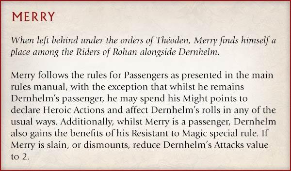 Middle-earth™ Blog: Éowyn™ & Merry™ - Warhammer Community