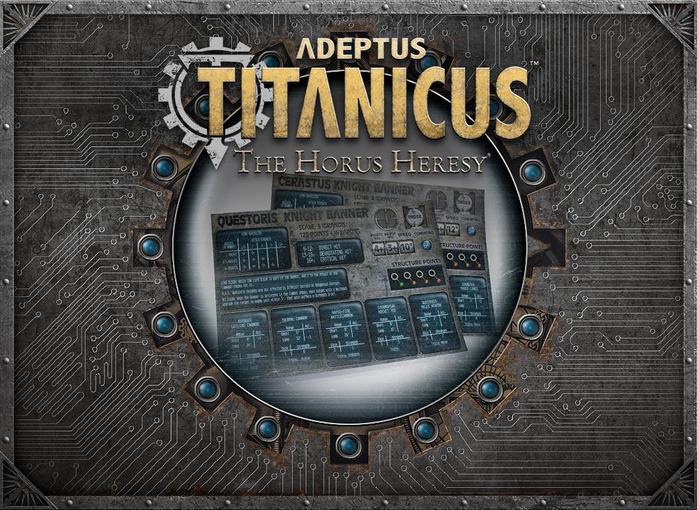 Adeptus Titanicus: Downloadable Command Terminals