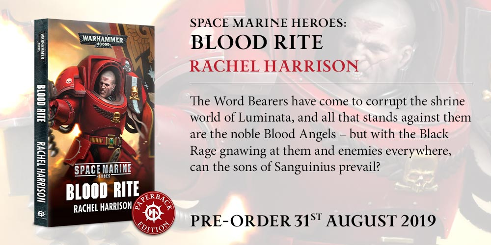 Programme des publications The Black Library 2019 - UK - Page 3 BLComingSoon-BloodRitePB