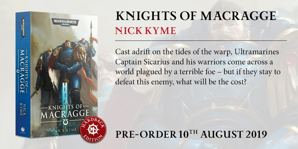 Programme des publications The Black Library 2019 - UK - Page 3 BLComingSoon-KnightsMacraggeHB
