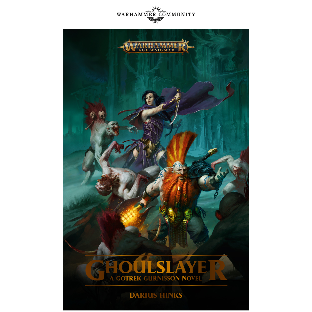 Programme des publications The Black Library 2019 - UK - Page 3 BLLiveReveals-Jun1-Ghoulslayer3ccoa