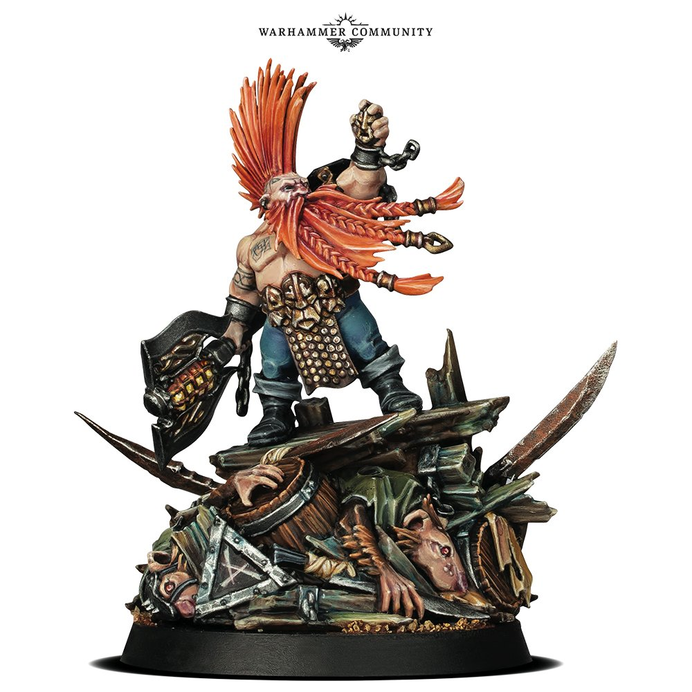 Programme des publications The Black Library 2019 - UK - Page 3 BLLiveReveals-Jun1-GotrekMini1coiy