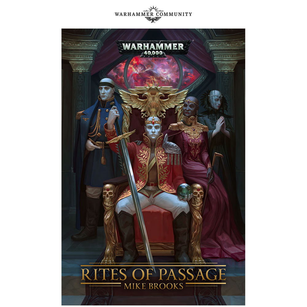 Programme des publications The Black Library 2019 - UK - Page 3 BLLiveReveals-Jun1-RitesOfPassage12alri